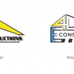 Relooking logo E4-Constructions